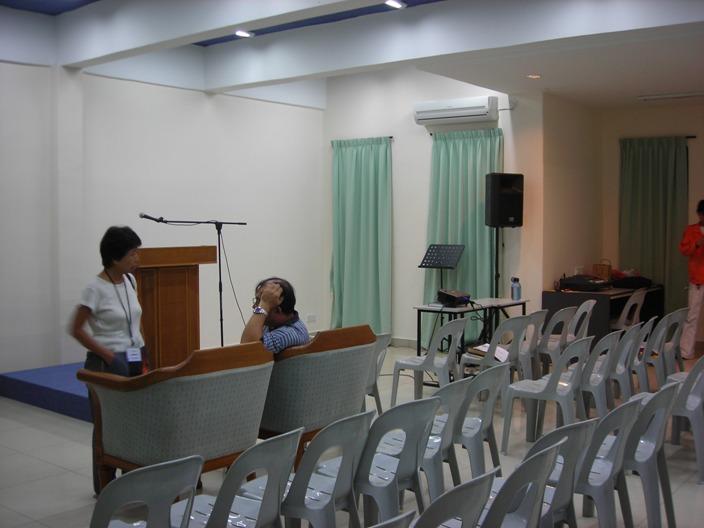Dorm Room Prayer Meeting